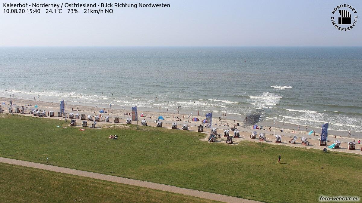 Hochsommer in Deutschland – hohe Temperaturen und kräftige Gewitter