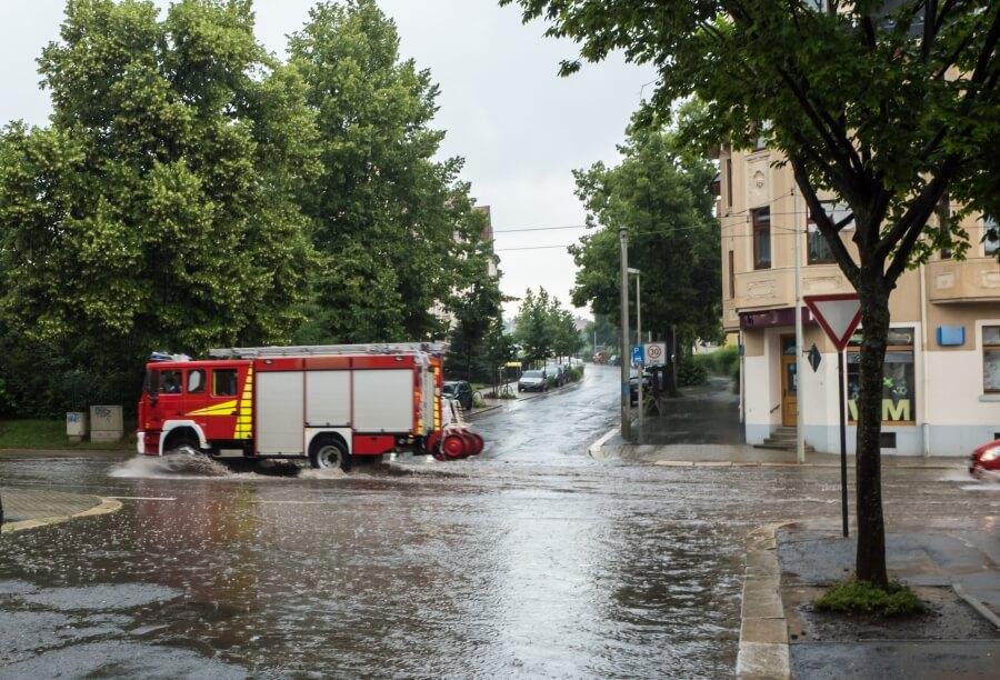Gewitter brachten teils über 80 mm Regen im Oberen Murtal