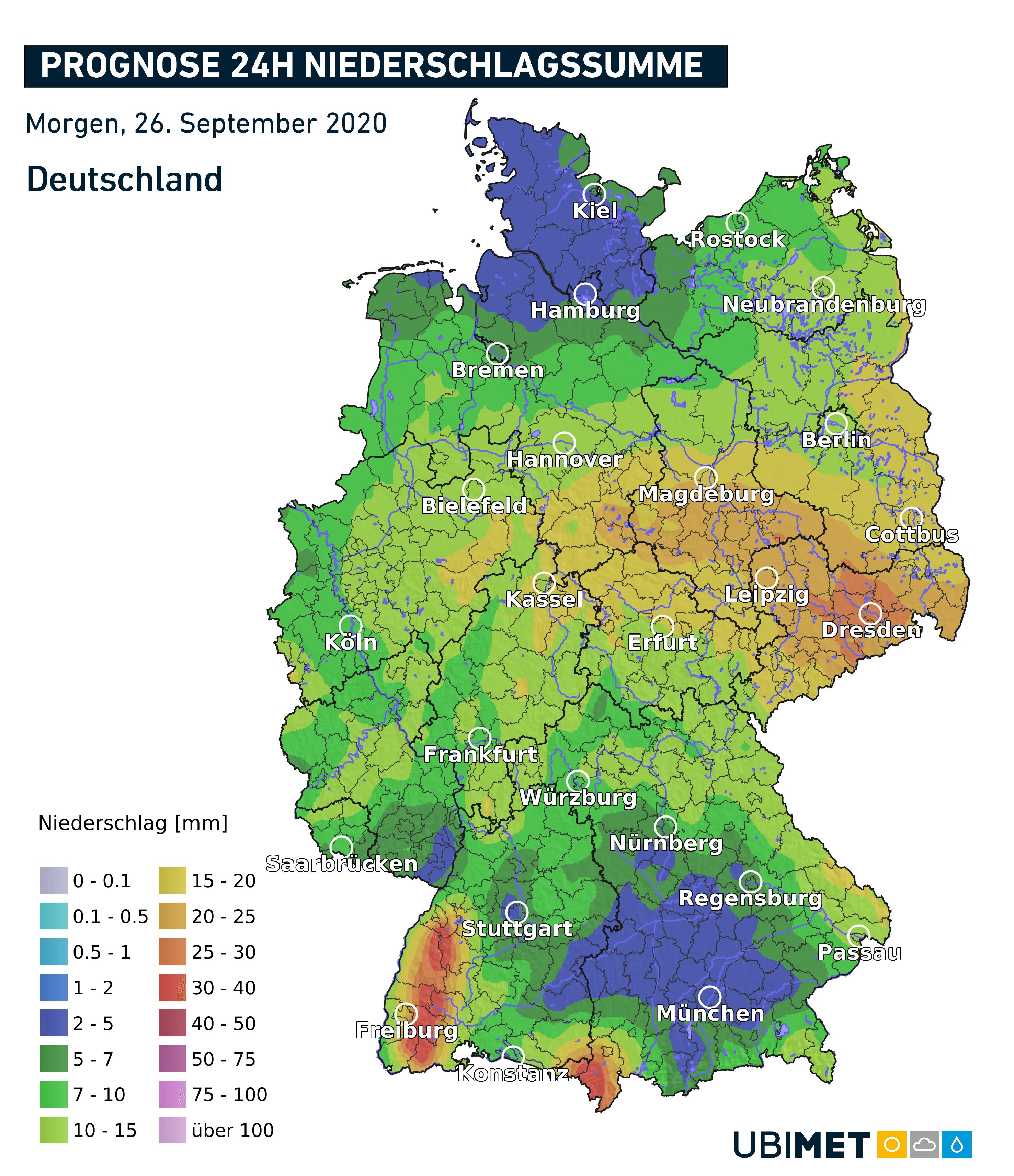 Staulage Deutschland