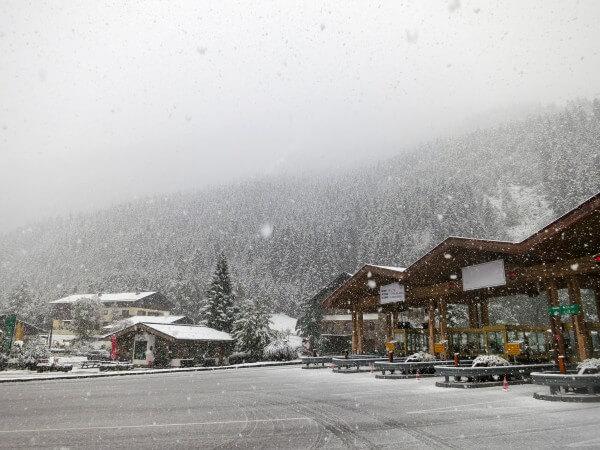 Am Freitag ergiebiger Regen und Schneefall