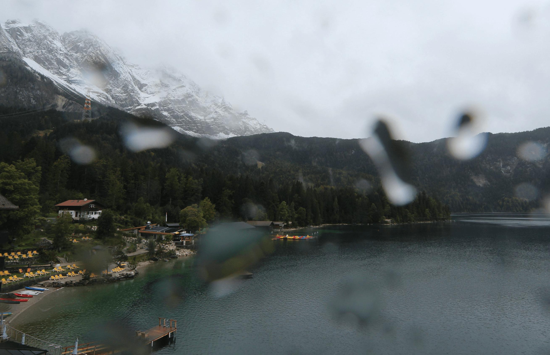 Flächendeckender Regen in Deutschland