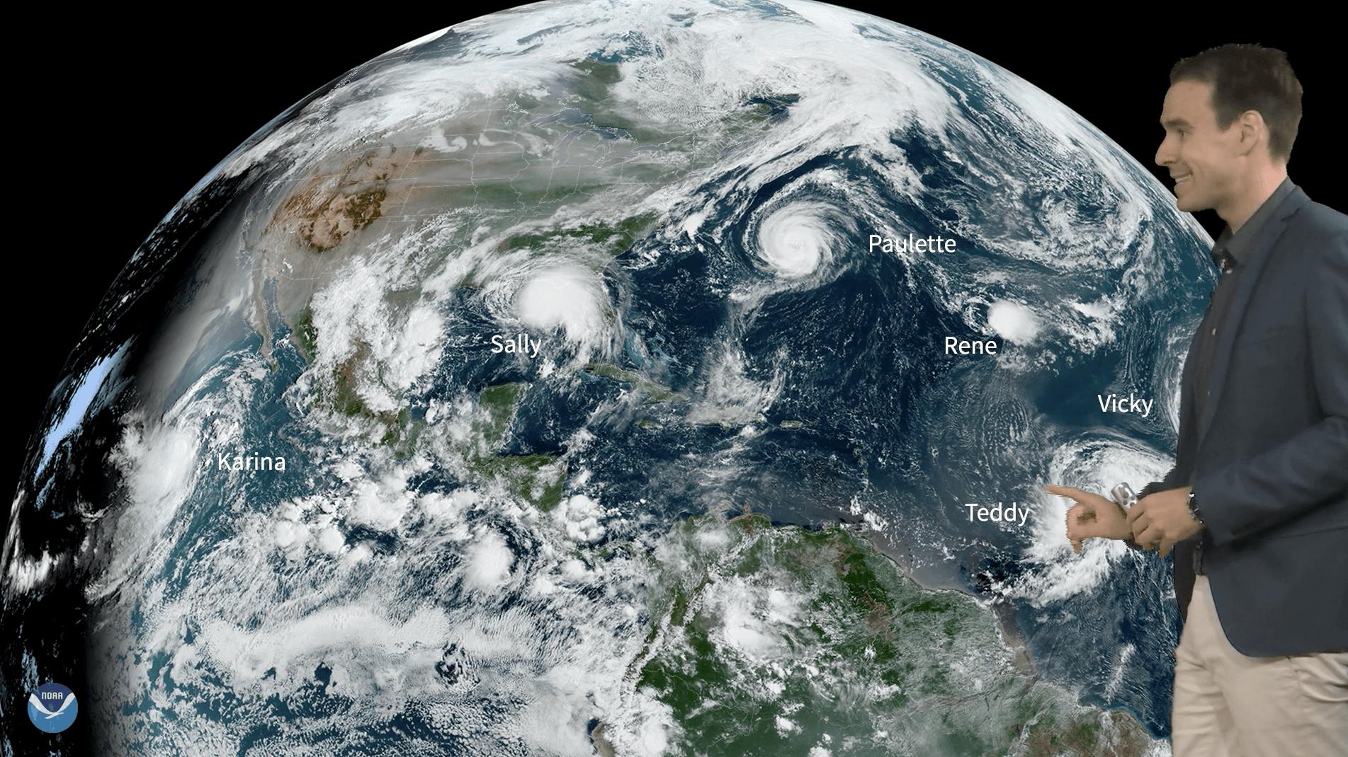 Wilde Wetter Welt 16. September 2020