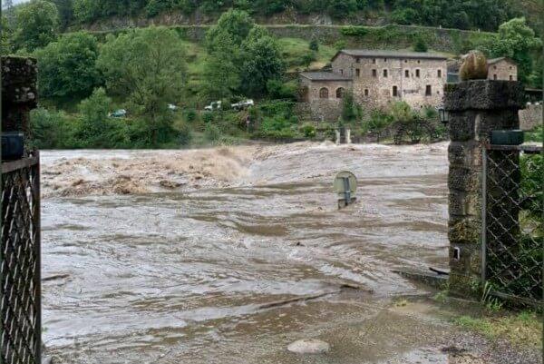Massive Überschwemmungen in Frankreich