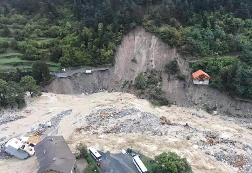 Schweres Hochwasser: Extreme Schäden in den Seealpen