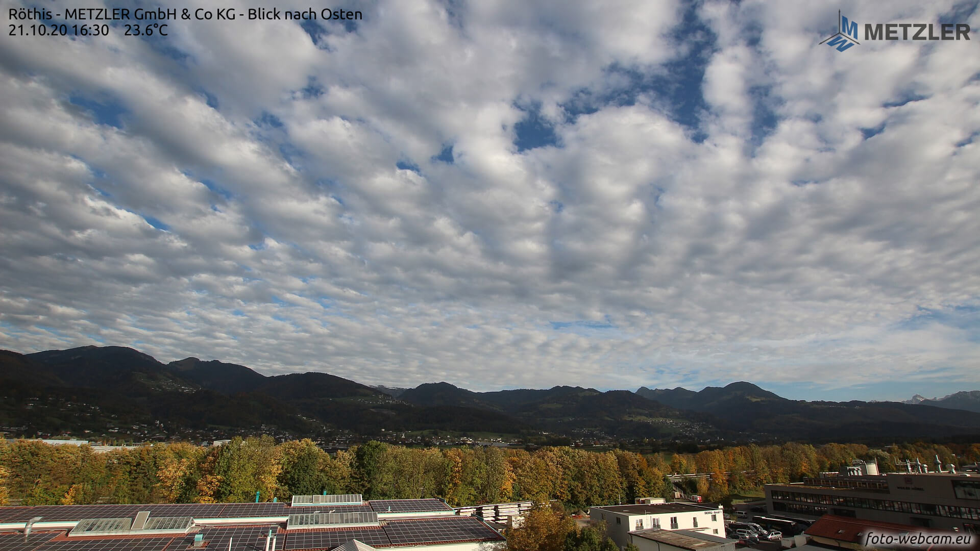 Am Donnerstag trotz mehr Wolken mild und trocken