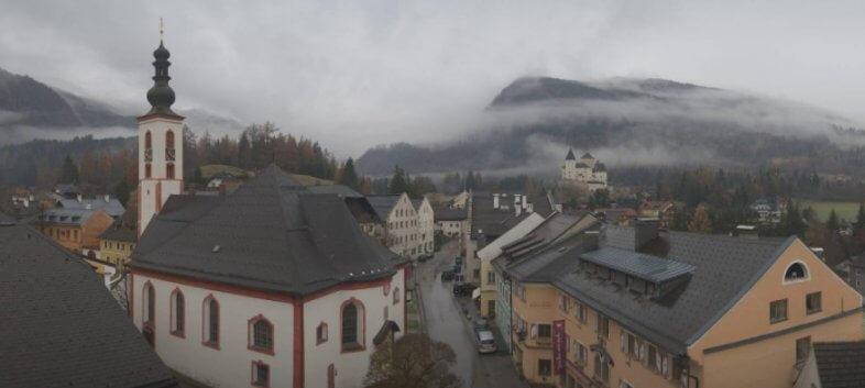 Webcam Mautendorf im Lungau am Montagvormittag - https://binggl.panomax.com/#
