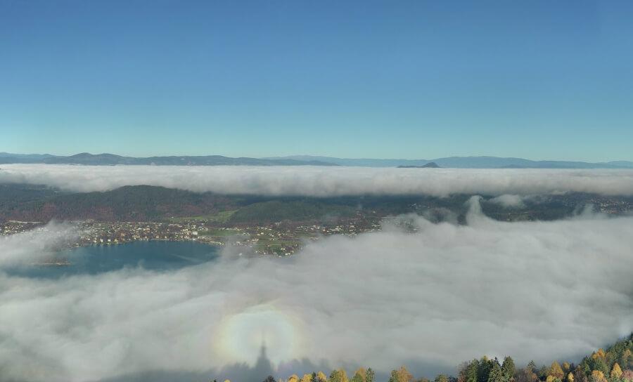 Nebel und Glorie