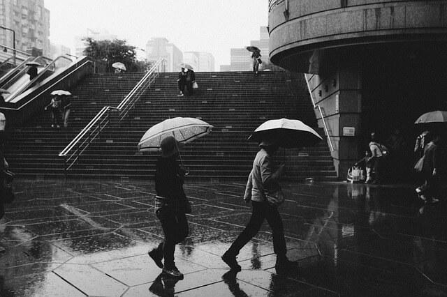 Kaltfrontdurchzug bringt Sturm, Regen und Gewitter