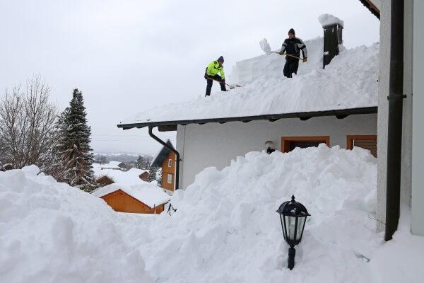Schnee über alle Maßen
