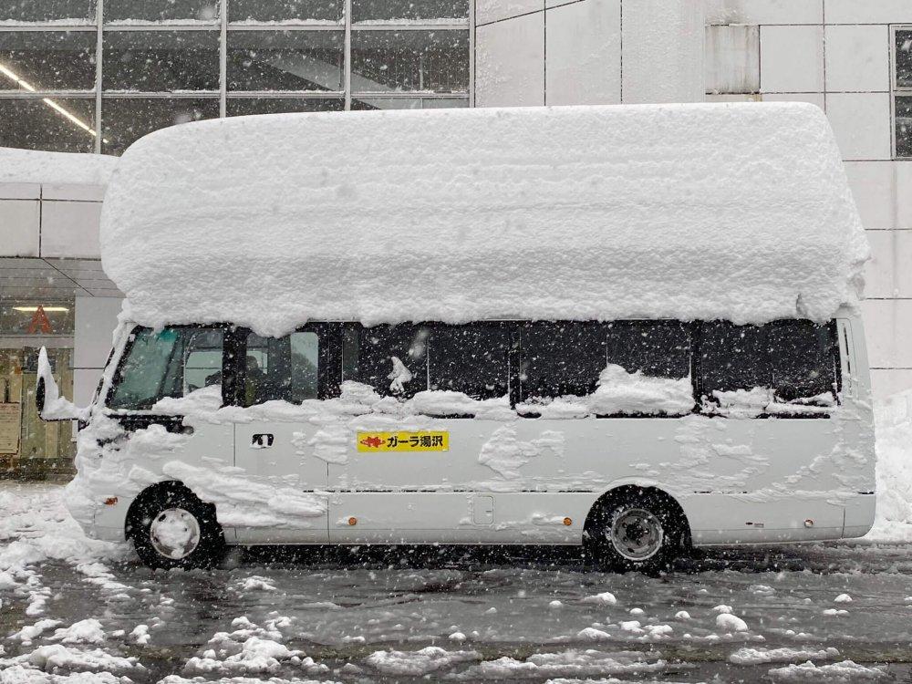 Extreme Schneemassen in Japan