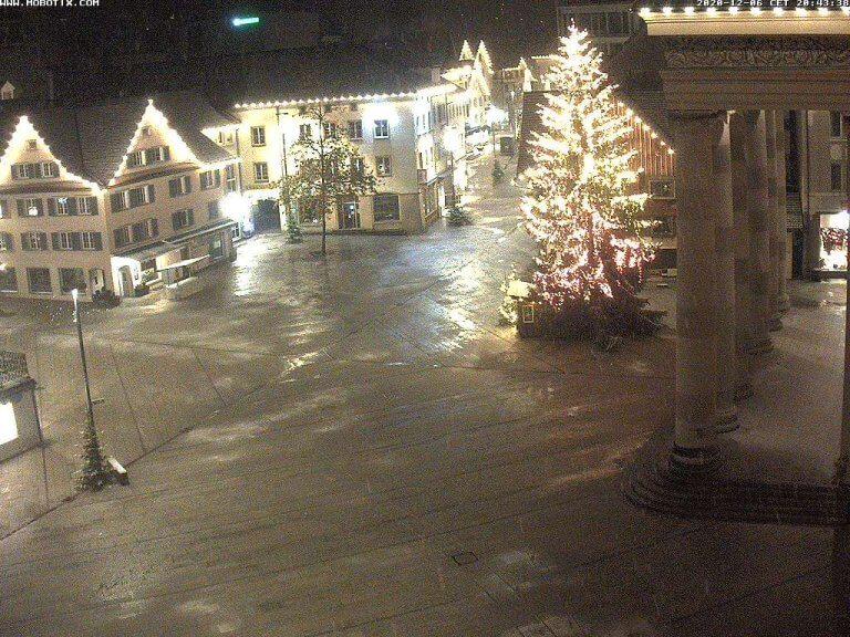 Webcam Dornbirn um 20:40 Uhr - https://www.dornbirn.at/rathaus/infos/webcams-in-dornbirn