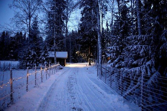 Schnee zu Weihnachten - pixabay.com