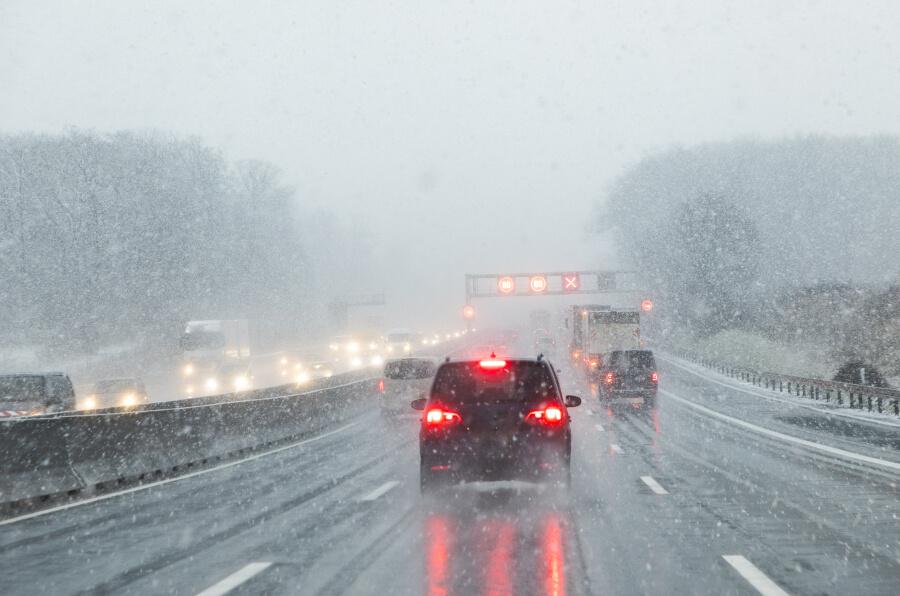 Tief LISA bringt etwas Schnee bis in tiefe Lagen