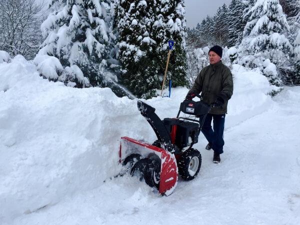 Bis zu 1 Meter Neuschnee im Westen
