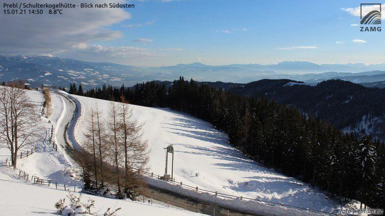 Am Samstag kalt, im Norden und Osten Schneeschauer