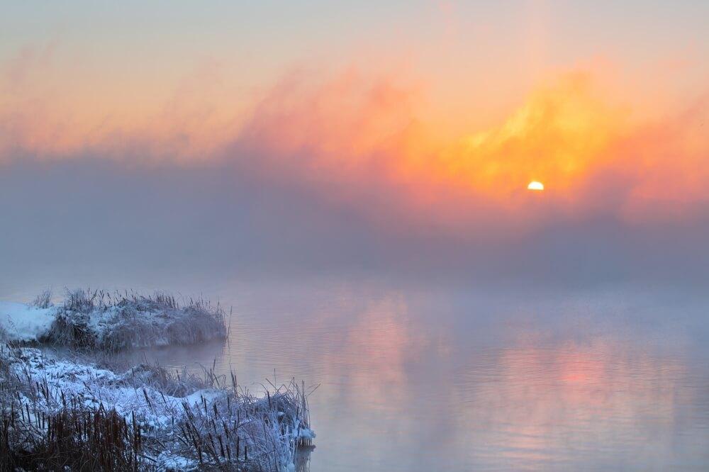 Eisige Temperaturen mit sehr strengem Frost teils unter -20 Grad