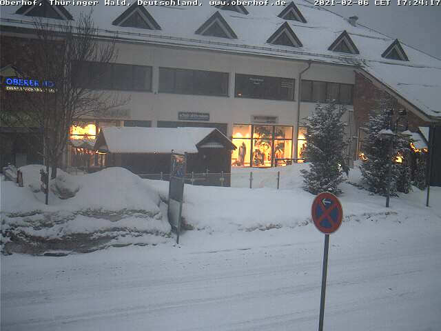 Webcam in Oberhof, Thüringer Wald - https://www.oberhof.de/Info-Service/Webcams