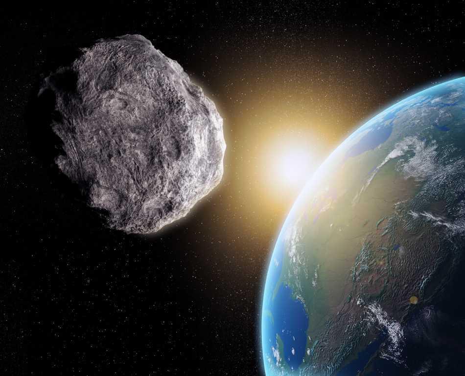 Begegnung mit einem kosmischen Felsbrocken