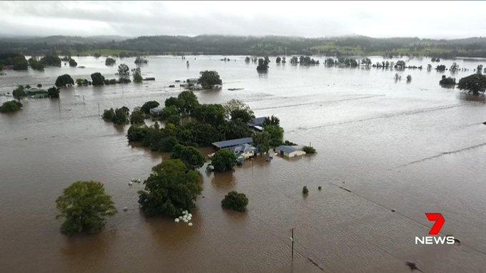 Überflutungen in Australien