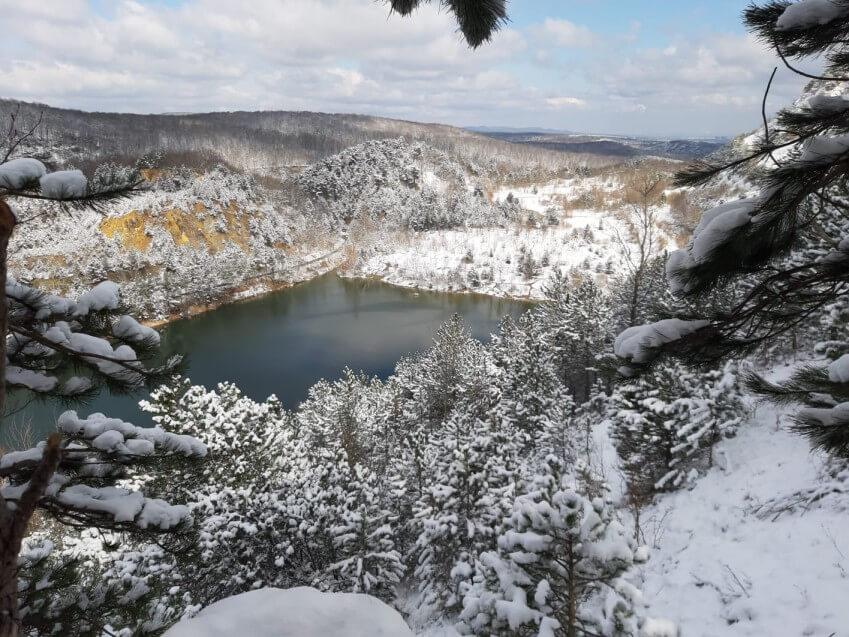 Eingeschneiter Wienerwald im März 2021 - Nikolas Zimmermann, UBIMET