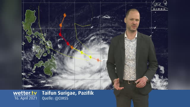 Wilde Wetter Welt 16. April 2021