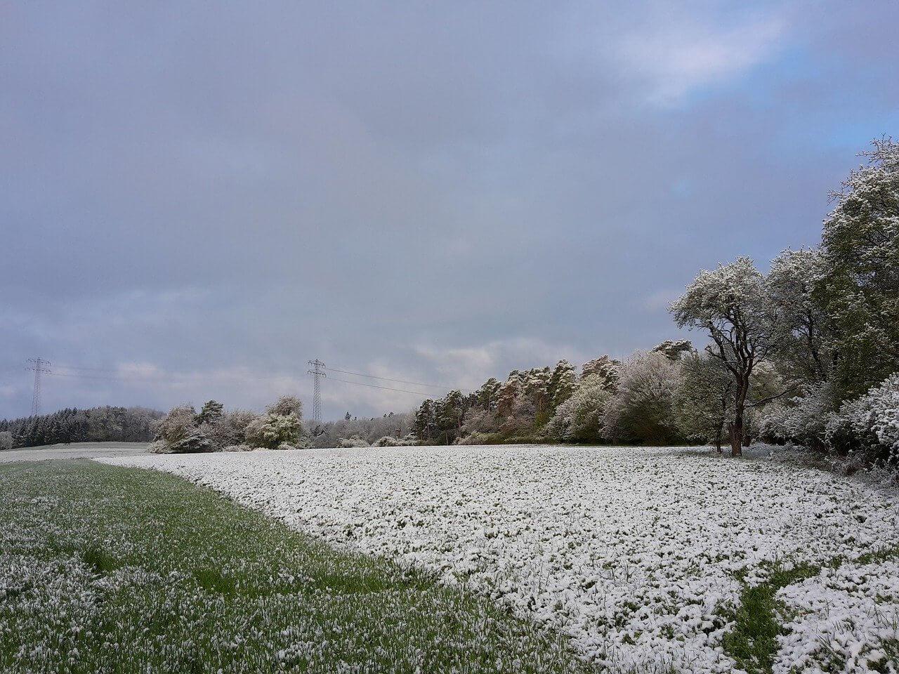 Der Winter kehrt zurück: Markante Kaltfront am Montag