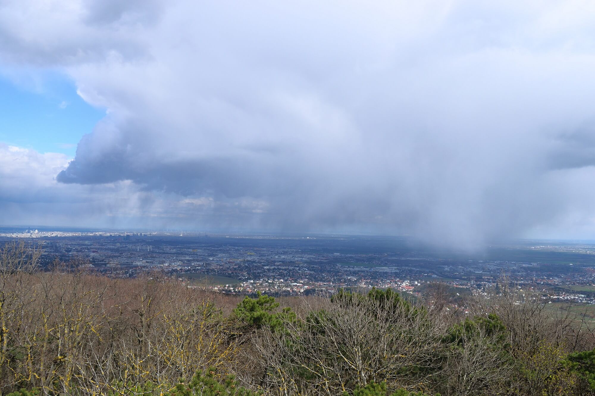 Höhenkaltluft sorgt für typisches Aprilwetter
