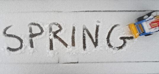 In der neuen Woche erneut Winterrückfall mit Schnee bis in die Täler