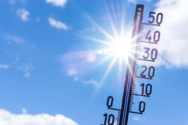 Der erste Hitzetag des Jahres