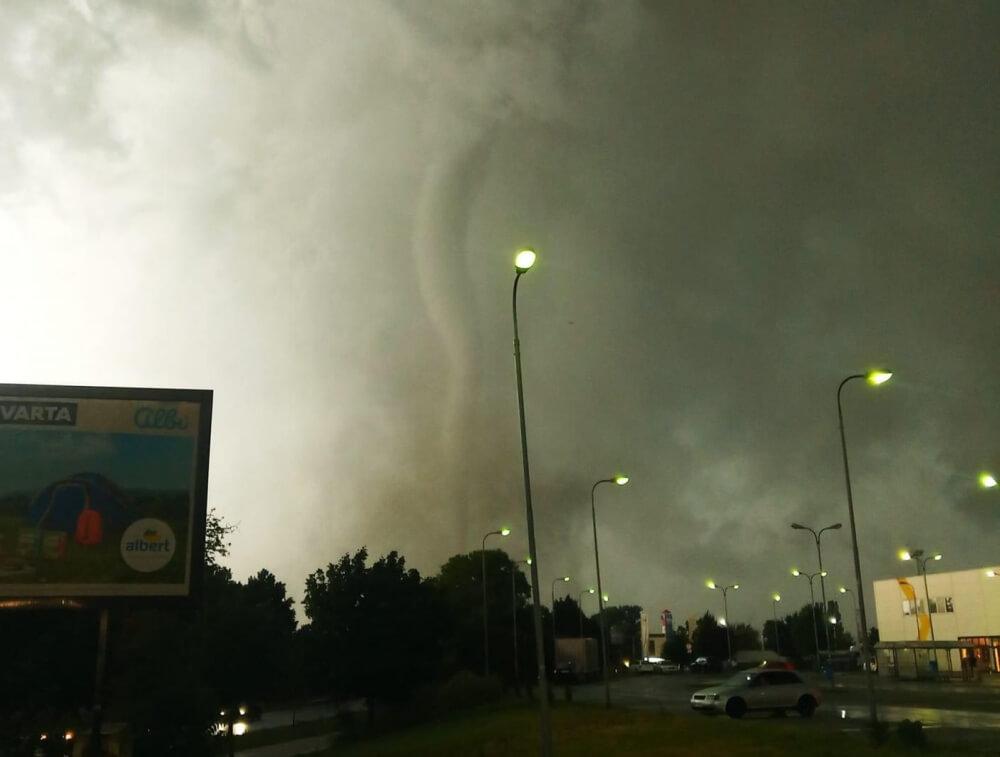 Starker Tornado in Tschechien