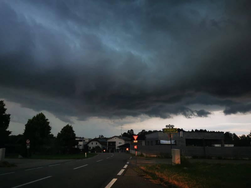 Gewitter: Schwerpunkt war am Mittwoch in Kärnten, der Steiermark und im Burgenland