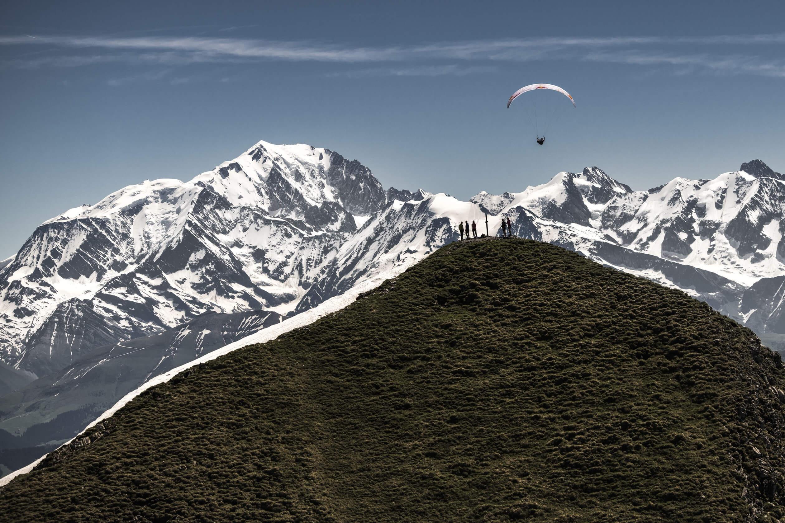 Hitze zum Start von Red Bull X-Alps
