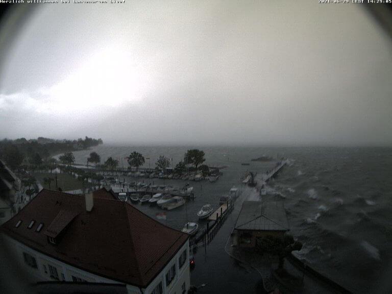 Webcam in Langenargen am Bodensee um 14:10 Uhr - http://webcam.langenargen.de/