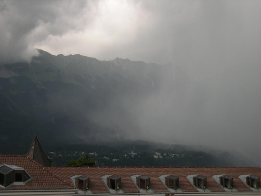Erneut kräftige Gewitter am Mittwoch erwartet