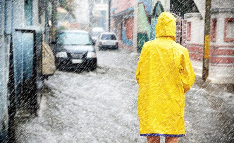 Niederschlagbares Wasser und Starkniederschläge