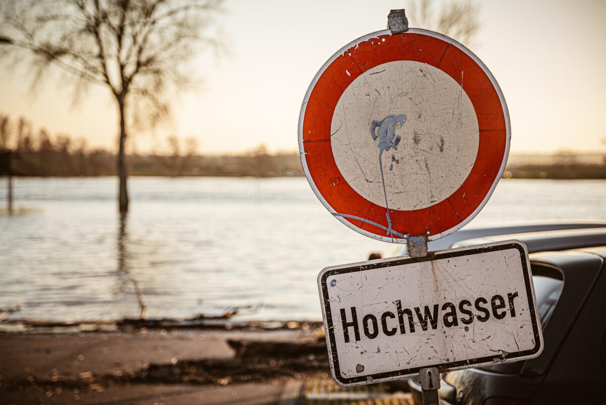 Hochwasser: Starkregen von Tirol und Salzburg bis Wien