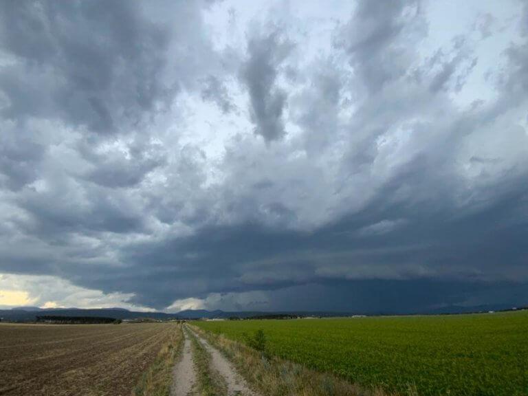 Gewitter im Großraum Wiener Neustadt - Storm Science Austria