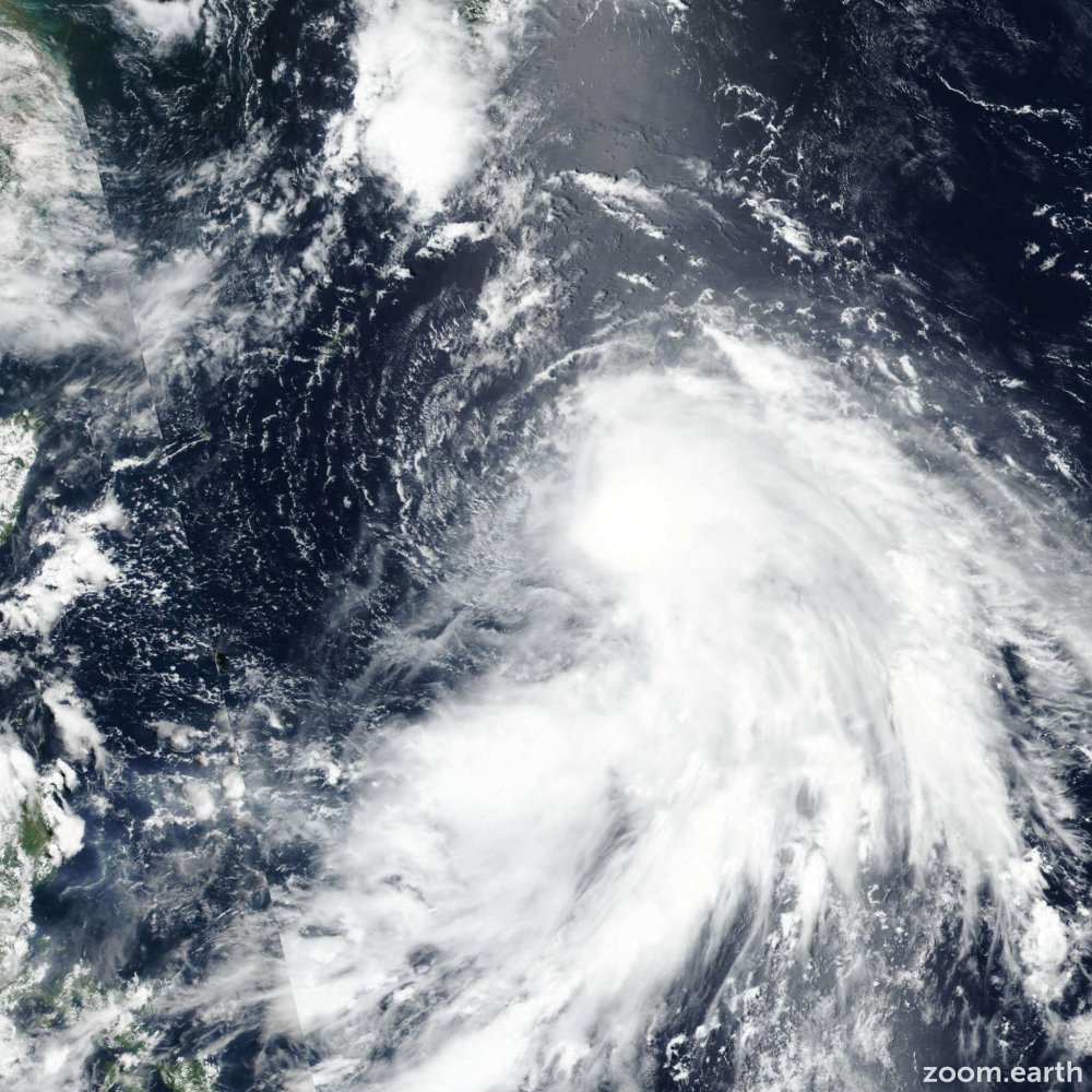 Taifun In-fa zieht auf Taiwan und Ostchina zu