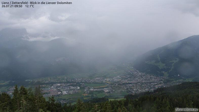 Webcam Lienz in Osttirol - https://www.foto-webcam.eu/webcam/lienz/