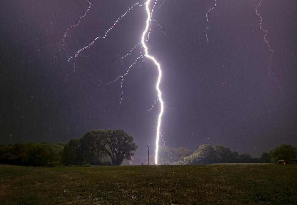 Gewitter brachten mehr als 680.000 Blitze im Juli in Österreich