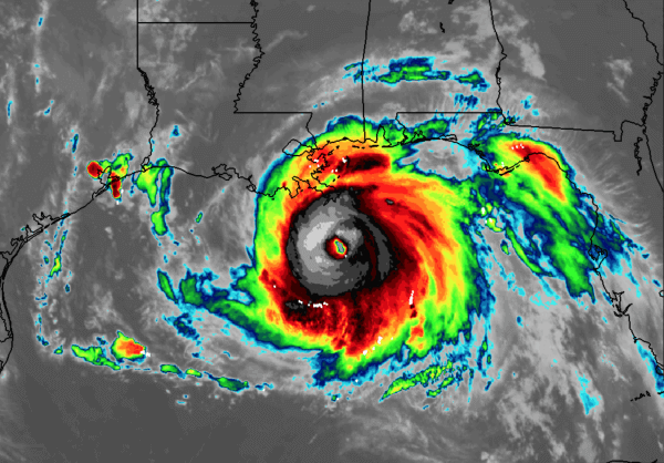 Hurrikan IDA bedroht New Orleans