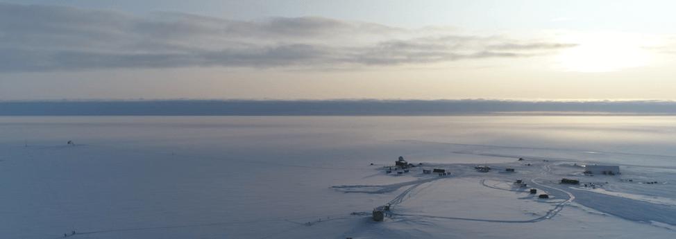Summit Station in Grönland im Winter - Heather Guy, https://geo-summit.org/