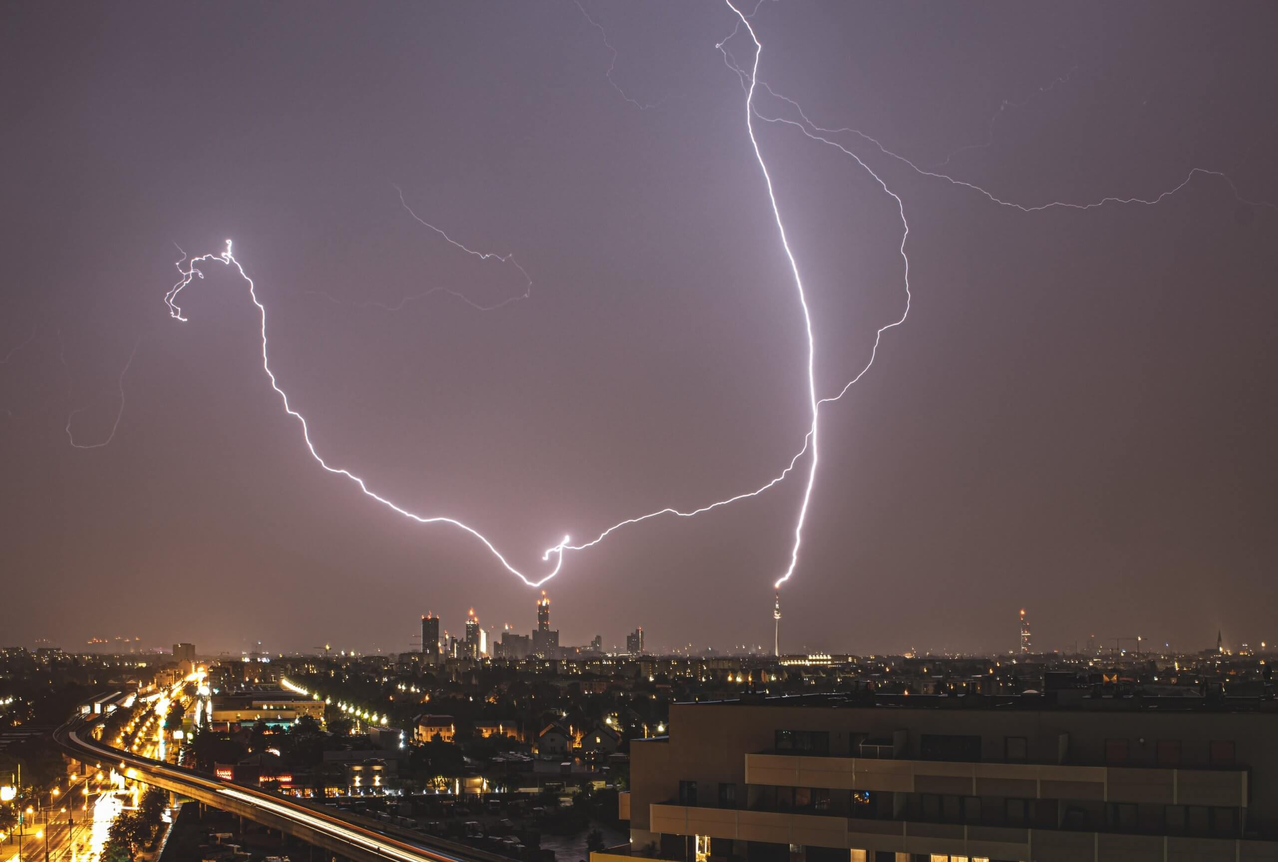 August: 329.000 Blitze in Österreich