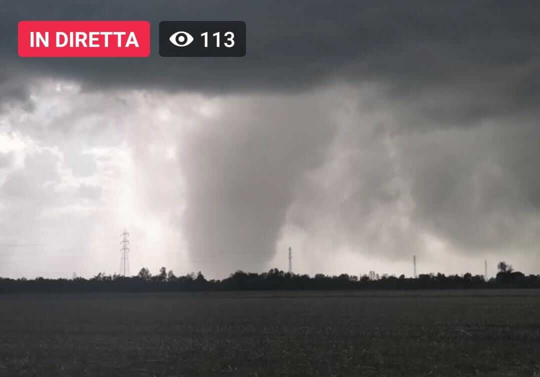 Mehrere Tornados in Norditalien